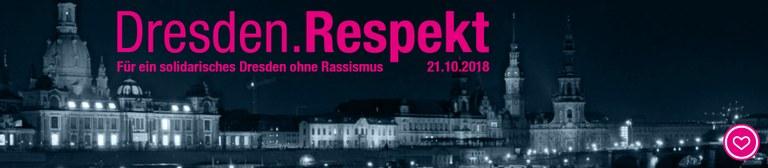 Dresden.Respekt - Gemeinsam für ein solidarisches Dresden ohne Rassismus